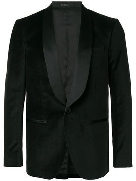 Mauro Grifoni classic fitted blazer - Black