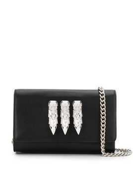 Philipp Plein skull clutch - Black