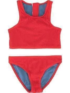 Duskii Girl Yara zip bikini set - Red