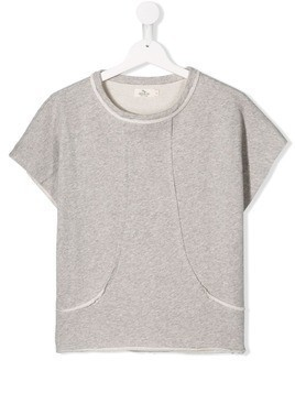 Andorine raw finish T-shirt - Grey