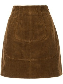 Nº21 corduroy mini skirt - Brown