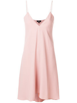 Theory plunge slip dress - Pink & Purple