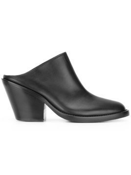 Ann Demeulemeester Blanche classic mules - Black