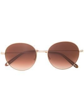 Garrett Leight Valencia round frame sunglasses - Brown