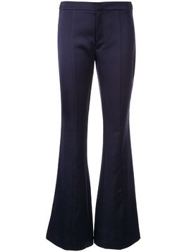 Borgo De Nor Jacqueline flared trousers - Blue
