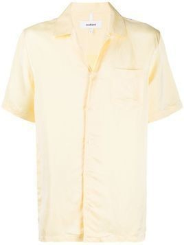 Soulland Ryan short-sleeved shirt - Yellow