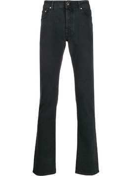 Jacob Cohen straight leg denim jeans - Black