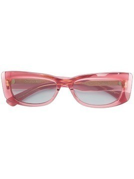 Christian Roth square frame sunglasses - Pink