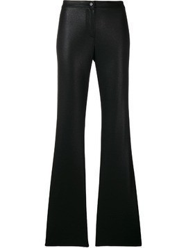 Romeo Gigli Pre-Owned flared tailored trousers - Black
