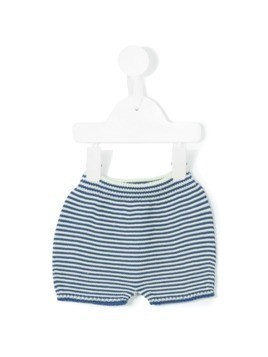 Knot knitted bloomers - Blue