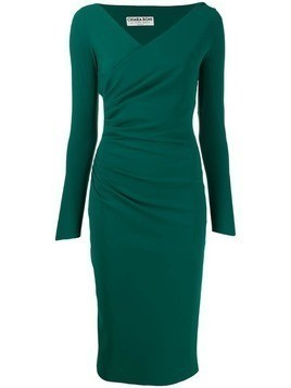 Le Petite Robe Di Chiara Boni ruched style dress - Green