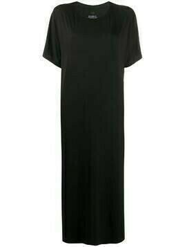 Esteban Cortazar round neck T-shirt dress - Black