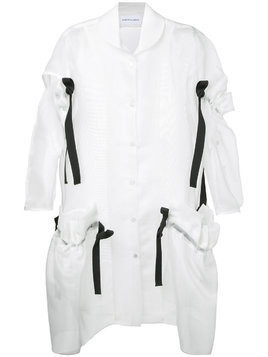 Roberts Wood crinoline summer coat - White