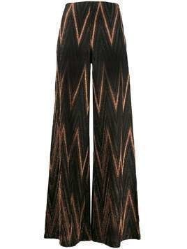 M Missoni flared trousers - Brown