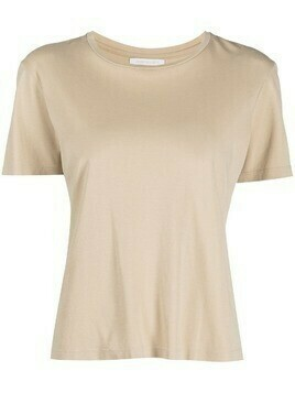 John Elliott high-twist cotton draping T-shirt - Neutrals