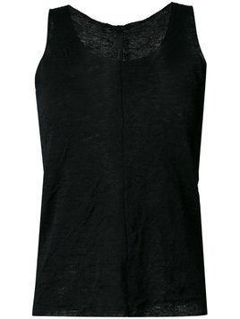 Forme D'expression 'Double knit' tank top - Black