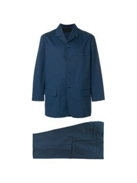 Prada Vintage two piece suit - Blue