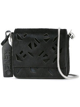 Kenzo 'Flying Kenzo' shoulder bag - Black