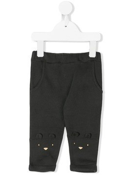 Emile Et Ida Cat knee's trousers - Grey