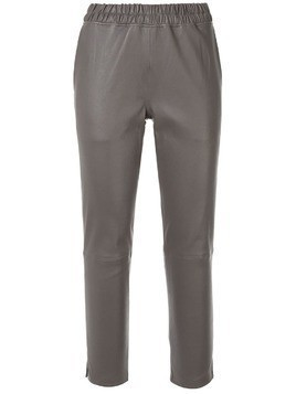 Inès & Maréchal cropped tailored trousers - Grey