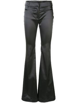 Tom Ford satin flared trousers - Grey