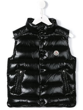 Moncler Kids 'Tib' padded gilet - Black