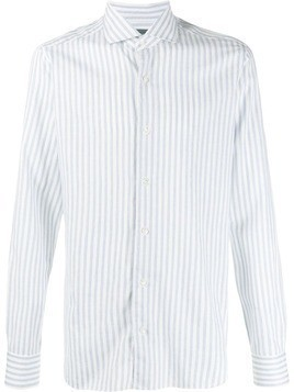 Barba striped shirt - Blue