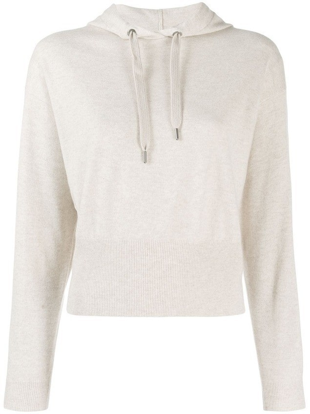 Brunello Cucinelli hooded jumper - Neutrals