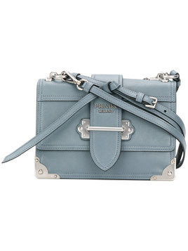 Prada - Cahier shoulder bag - Damen - Leather - One Size - Blue