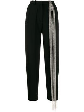 Christopher Kane chain tailored trousers - Black