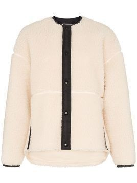 Hyke button-down long-sleeve jacket - White