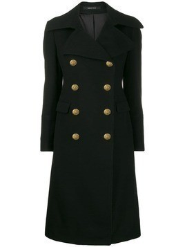Tagliatore double breasted coat - Black