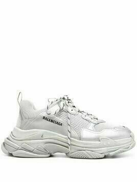Balenciaga Triple S metallic sneakers - Grey