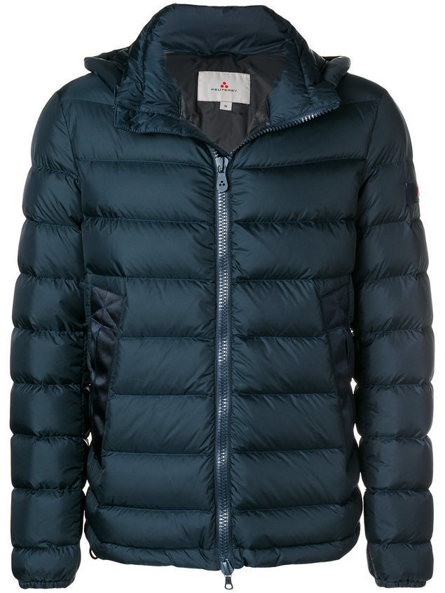Peuterey padded down coat - Blue