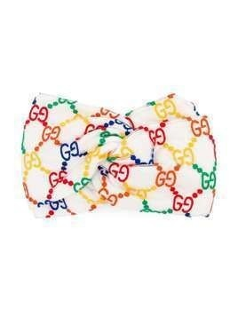 Gucci Kids GG patterned headband - NEUTRALS