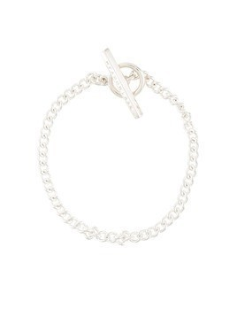 Meadowlark Fob anklet - SILVER