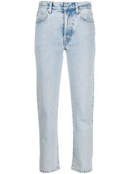 Ssheena striped straight-leg jeans - Blue