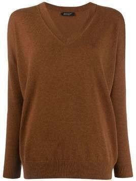 Aragona knitted cashmere jumper - Brown
