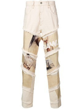 G-Star Raw Research Deer print jeans - Neutrals