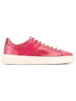 Hogan panelled sneakers - Pink