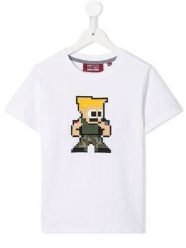 Mostly Heard Rarely Seen 8-Bit Tiny Combat T-shirt - White