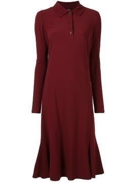 Aspesi polo shirt dress - Red