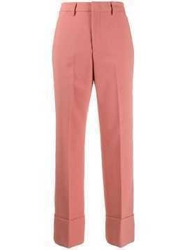 Closed Stew high-waisted trousers - PINK