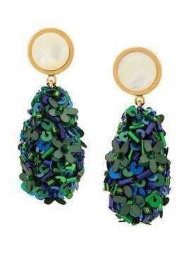 Lizzie Fortunato Jewels Roman party earrings - Green