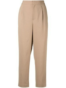 Ballsey cropped trousers - Brown