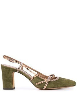 Tabitha Simmons Donnie chunky-heel sandals - Green