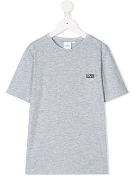 Boss Kids jersey T-shirt - Grey
