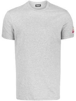 Dsquared2 logo patch T-shirt - Grey