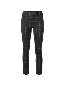 Dondup grid skinny trousers - Grey