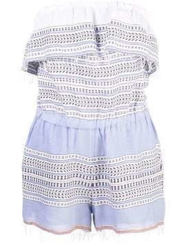 Lemlem Amira playsuit - Blue